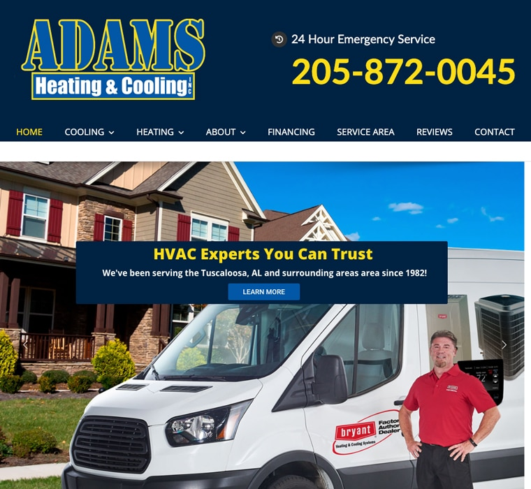 Adams Heating & Cooling